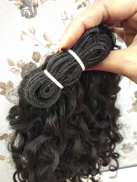 Raw Machine Weft Hair