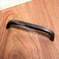 Brass Bar Handle - Black Bar Handle