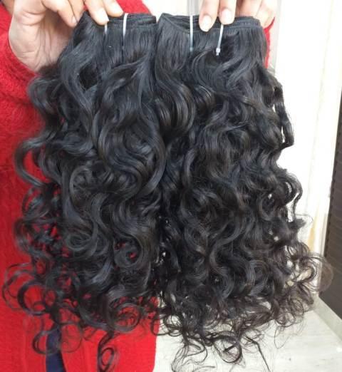 Raw Deep Curly Human Hair
