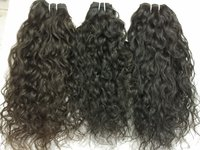 Raw curly unprocessed hair
