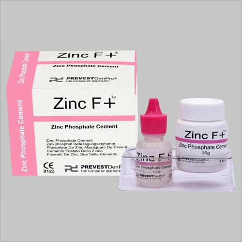 Zinc F + - Zinc Phosphate Cement