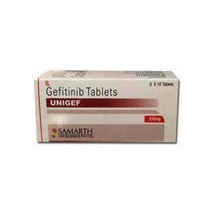 Unigef 250mg Tablet (Gefitinib - Samarth Life Sciences Pvt Ltd)