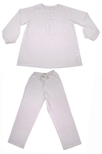 Pajama set Big Stripe X-Large Beige