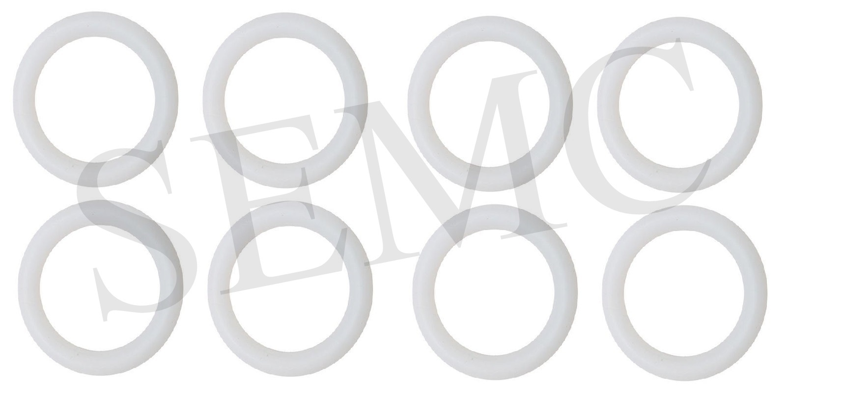 Ring Pessary Set Of 8 Pcs (Silicon)