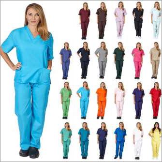 Hospital Nurse Scrub Suit