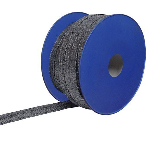 Premium Grade Flexible Graphite Fiber Yarn Braided Packing Rope