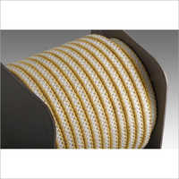 Yarn And Expanded PTFE Fiber Braided Aramid Yarn And Graphite Expanded PTFE Fiber Braided Rope