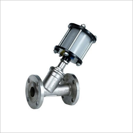 Angle Type On - Off Control Valve
