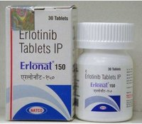 Erlonat 150 Tablet (Erlotinib - Natco Pharma Ltd)