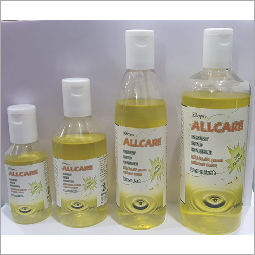 Allcare Lemon Fresh Sanitizer