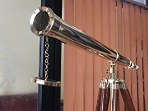 Nautical Harbor Master Refractor Telescope by NauticalMart Telescope - with Free Chrome Tray