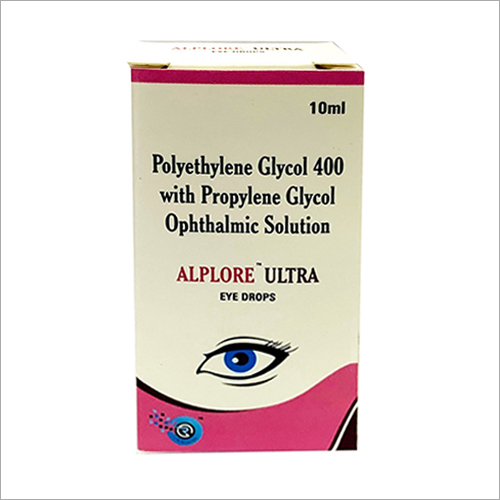 10 ml Polyethylene Glycol 400 With Propylene Glycol Ophthlmic Solution