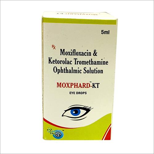 5 ml Moxifloxacin And Ketorolac tromethamine Ophthalmic Solution