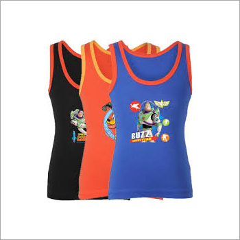 Kids Printed Body Care Sando