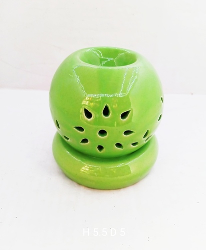 Matka shape oil burner