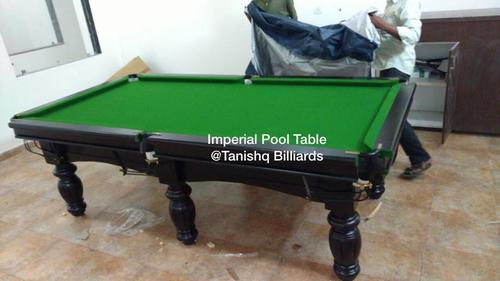 green top pool table
