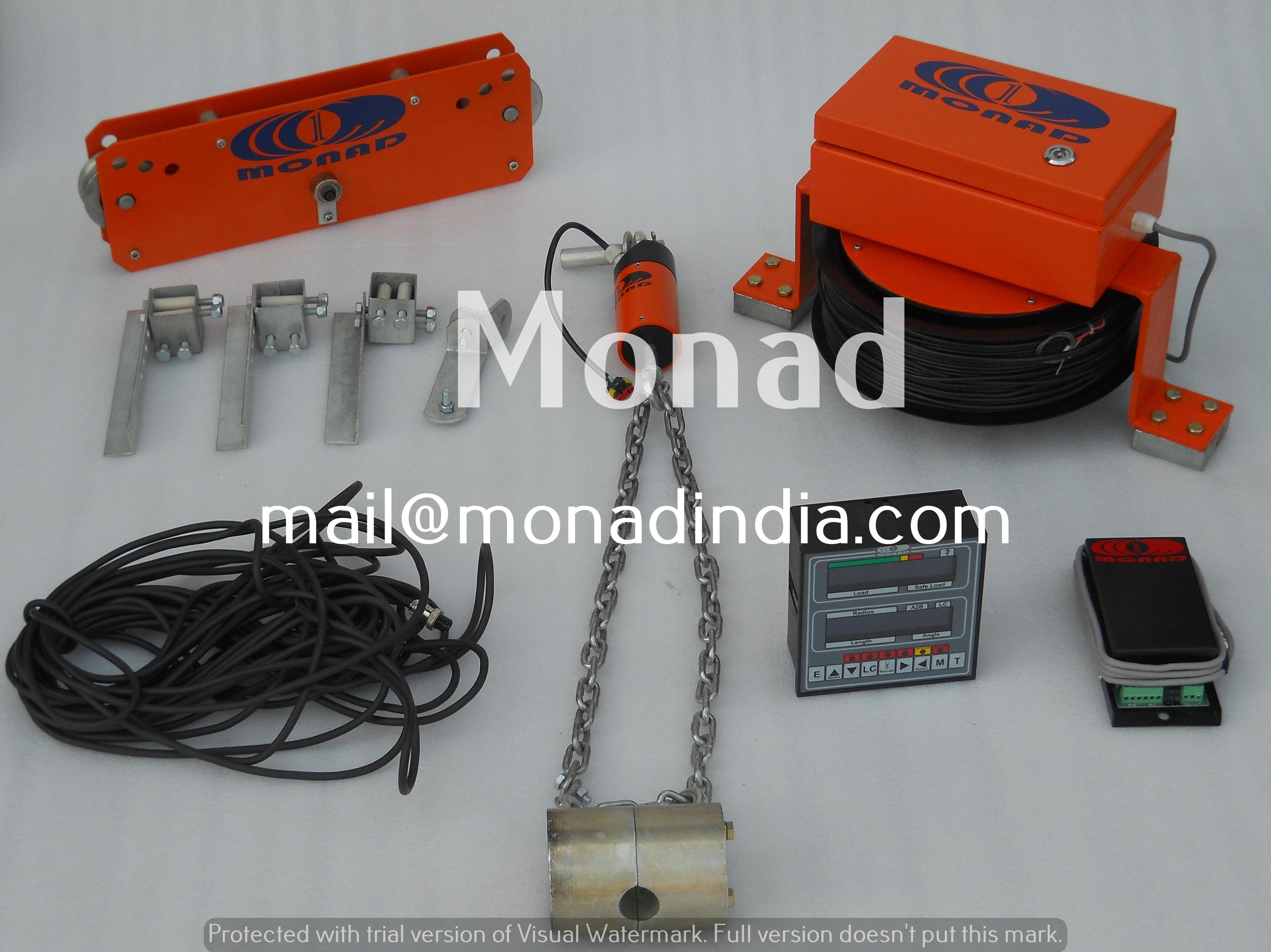 Load Movement Indicator (LMI) For Cranes