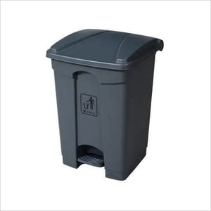 PLASTIC DUSTBIN WITH PEDAL 30 LTR