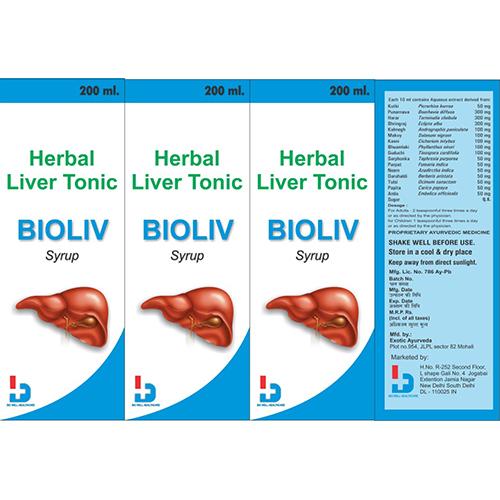 Bioliv Herbal Syrup