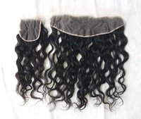 Transparent Swis Lace Closure 4x4 Pre Plucked With Indian Wavy Lace Closure