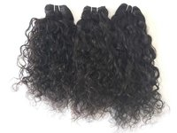 virgin curly hair, pure unprocessed human hair Curly Hair