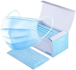 Strong Protection Hypoallergenic  50 PC Disposable Masks