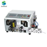 Automatic Round Sheathed Two-core Cable Cutting and Stripping Machine