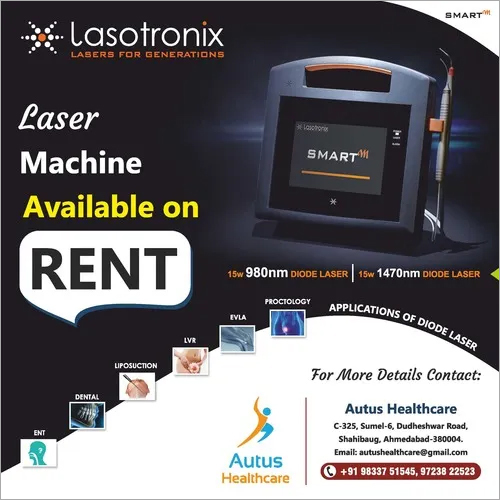 Lasotronix Laser On RENT For Varicose Veins And Piles