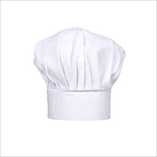 White Cotton Chef Cap