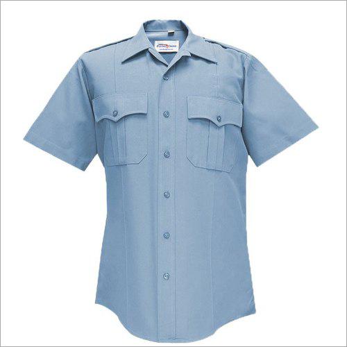 Half Sleeve Security Guard Uniform Shirt
