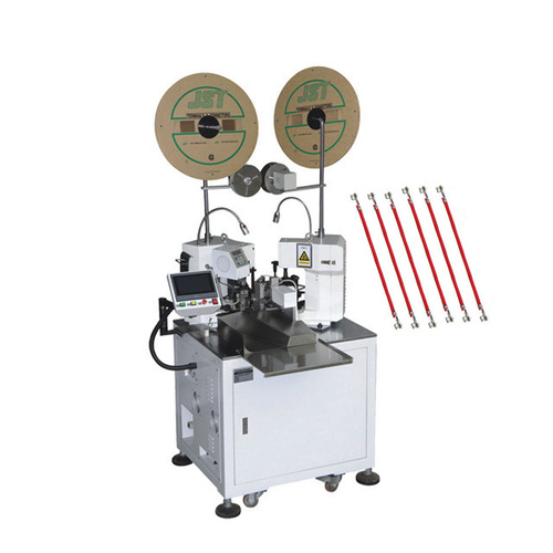 Full Automatic Double Head Wire Cutting Stripping Crimping Machine