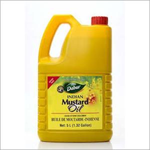 5 ltr Dabar Mustard Oil