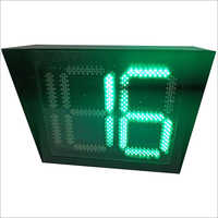 Multi Color Traffic Signal Countdown Timer