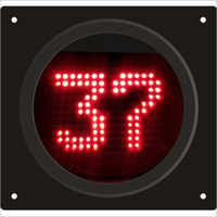Traffic Signal Digital Countdown Timer