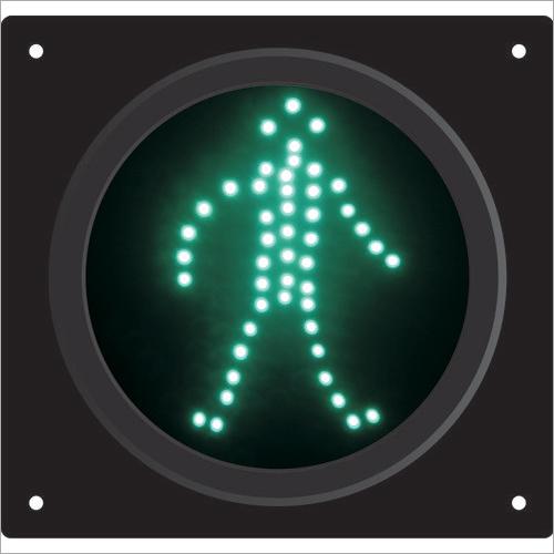 230V Pedestrian Traffic Green Light