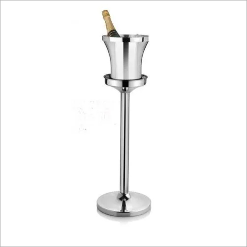 Wine Bucket with Stand SS Premium