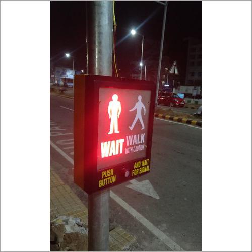 LED Pedestrian Cross Controller