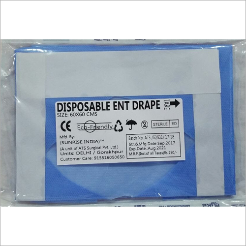 Disposable ENT Drape