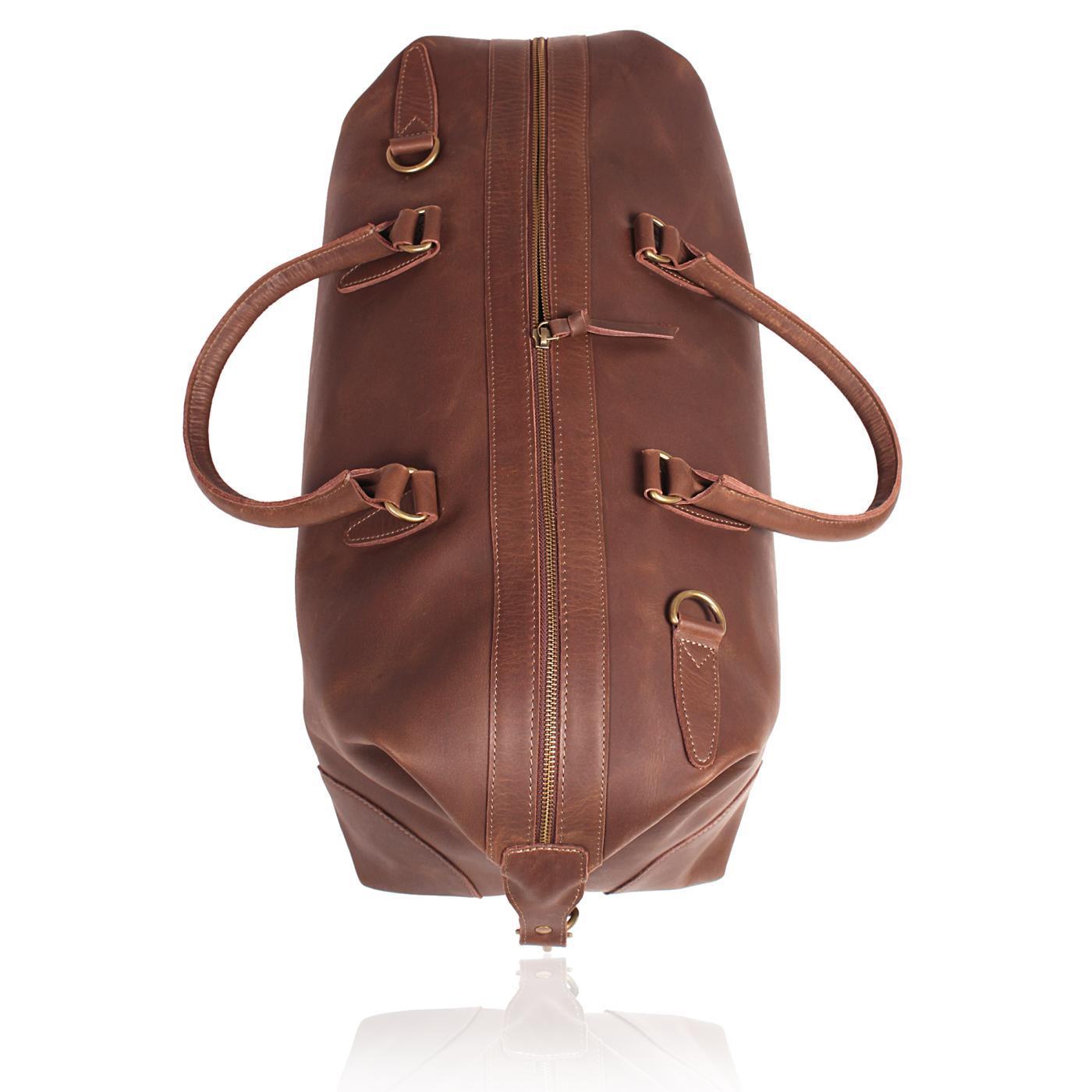 Classic Leather Duffle Bag
