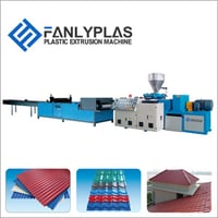 PVC Roffing Sheet Extrusion Line