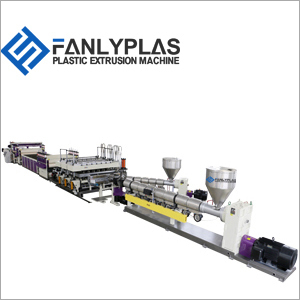 PC PP PE Hollow Grid Sheets Extrusion Lines