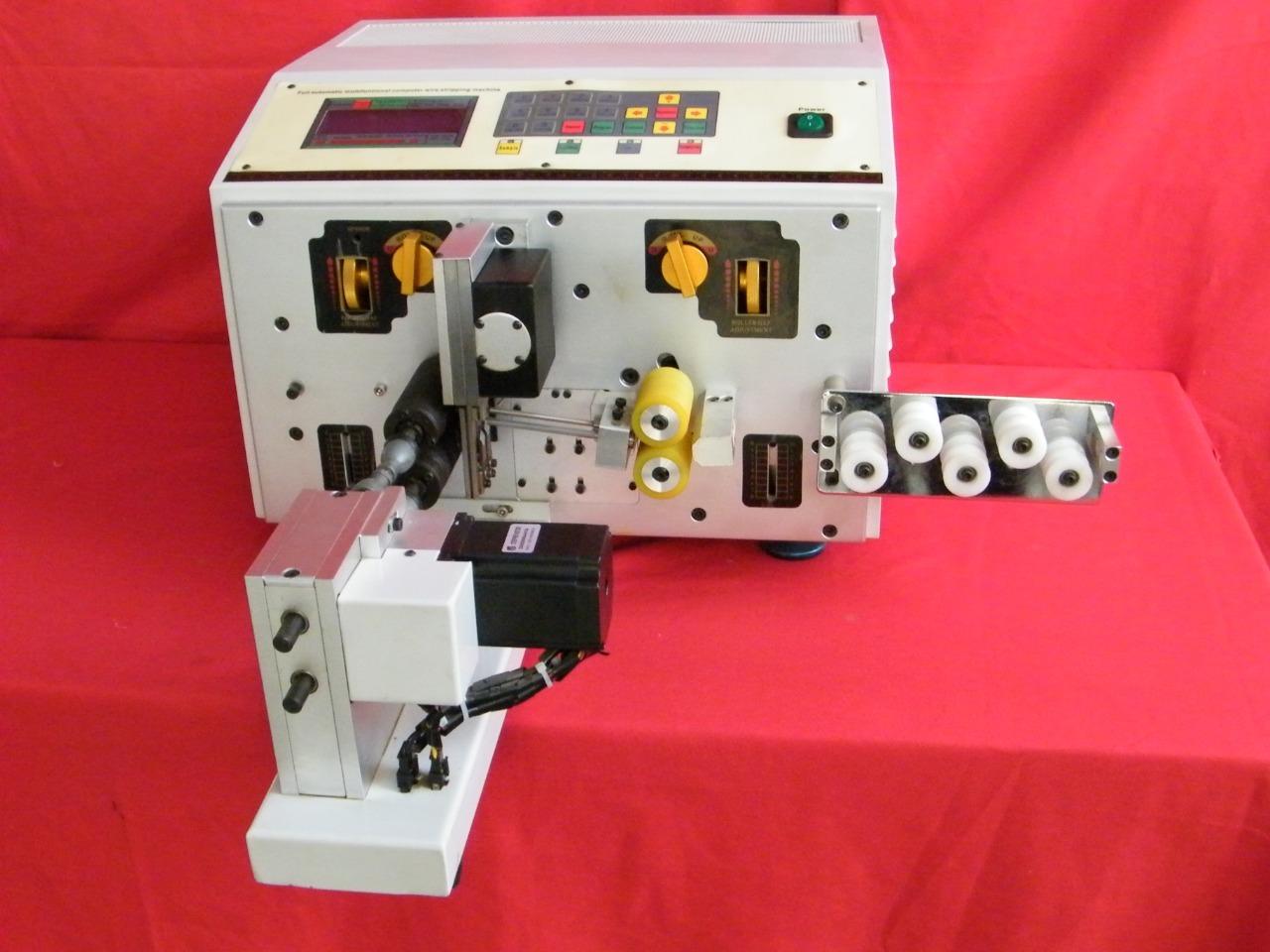 Digital Wire Cut & Strip & Twist Machine