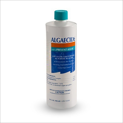 Liquid Algaecide Chemical