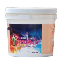 Dynamic  Acrylic Distemper  Paint