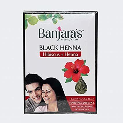 Black Henna with Hibiscus