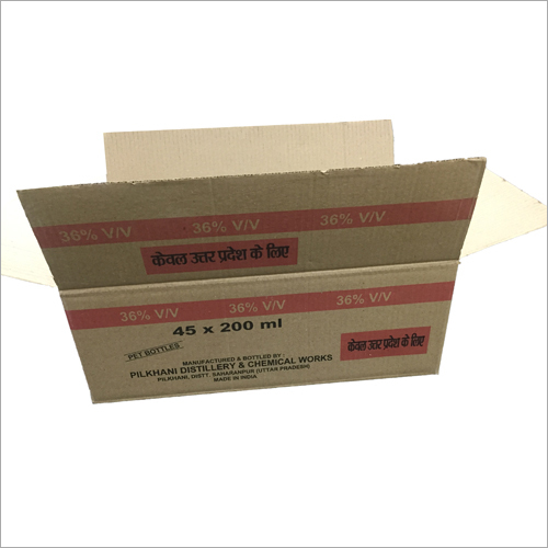 Customized Printed Corrugated Box