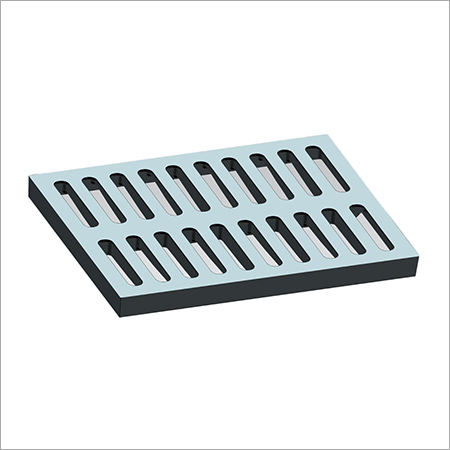 Ductile iron grating