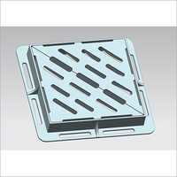 Ductile Iron Gratings With Frame