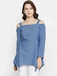 Full Sleeve Shoulder Cut Top