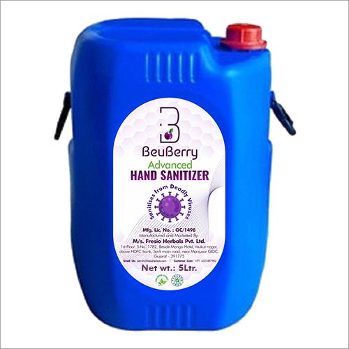 5 Ltr Advanced Liquid Hand Sanitizer